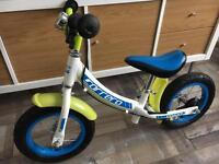 Boys Carrera balance bicycle bike