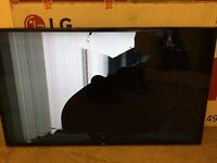 LG 49 inch Full HD model 49lh5100 damaged screen