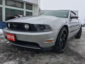 2010 Ford Mustang GT Premium Convertible