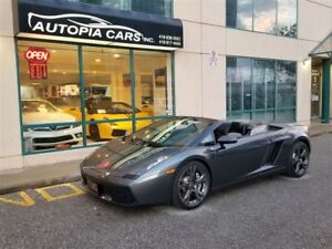 2008 Lamborghini Gallardo SPYDER E-GEAR / AWD /NAVIGATION / BACK