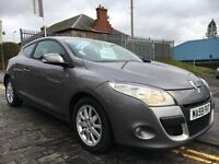 RENAULT MEGANE 1.5 DCI EXPRESSIONS 106HP,59 PLATE 2009....F.S.H...£30 ROAD TAX...65 MPG...DIESEL..