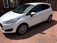 Ford Fiesta Titanium - 1.0 EcoBoost - 2014, FullServiceHistory, ZERO Road Tax, White, Petrol, Manual