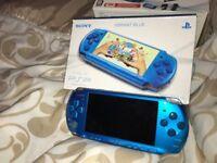 **EXCELLENT CONDITION PSP VIBRANT BLUE**