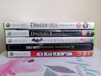 Red Dead Redemption Batman Arkham City Dragon Age II Bioware Call of Duty MW 3 Steelbook PS3 Games