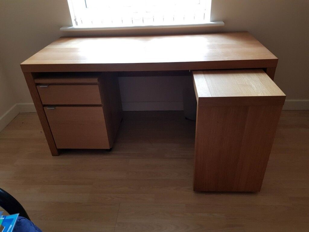 Ikea Malm Desk With Pull Out Panel In Derby Derbyshire Gumtree