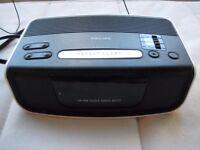 Philips Alarm Clock Radio - FM MW Clock Radio AJ3121