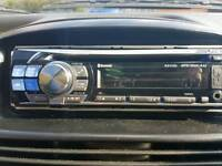 Alpine car stereo headunit cd + usb with wires and box