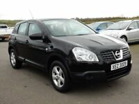 2009 nissan qashqai visia 1.6 petrol low miles, motd april 2019, full history