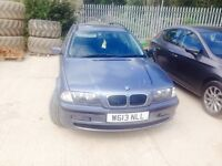 Bmw estate, petrol, full leather, great condition for the age, mot till end off October,