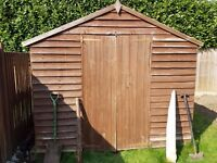 **Free Garden Shed** 10 ft x 6 ft