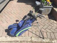 """US kids 57"""" golf clubs"""