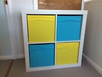 Ikea shelving unit bookcase with drawers