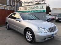 Mercedes benz c class 1.8 automatic. Free warranty. Finance available