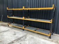 750mm Container SHELVING LONGSPAN STORAGE RACKING SYSTEM BAY (Brentwood Branch)