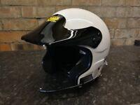 OMP open face helmet. Rally, race, track day, hillclimb