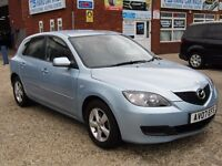 MAZDA3 1.6 TS 5dr 1LADY PREVIOUS OWNER ONLY,