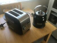 Kettle and 2 Slice toaster