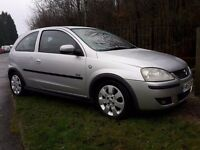 Vauxhall corsa 1.2 low miles new mot