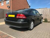 Saab 9-3 2.0t Arc (170bhp) 2004, in dark green with full cream leather