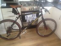 Rock lobster very high spec mountain bike hope parts