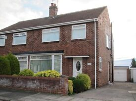 3 Bedroom House Billingham Wolviston Court TS22 with Garage & Garden Combi Rent Let 3Bed No Fees