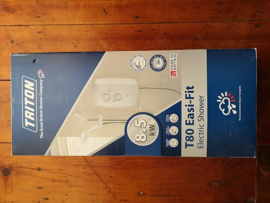 Triton T80 Easi Fit Electric Shower White In Liverpool Merseyside How To Wire An