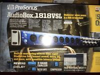 Presonus Audiobox 1818VXL Brand New