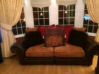 3 & 4 Seater Sofas with matching Footstool