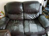FREE RECLINING SOFA MILLBROOK FIRST COME TAKES IT