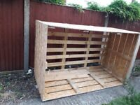 Large strong storage crate