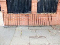 dover scroll metal drive way gates