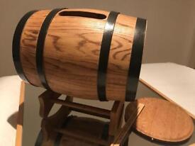 Wedding gift and card barrel
