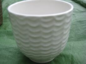 Two Small Ceramic Vases or Plant Pots - 2 for £3.00
