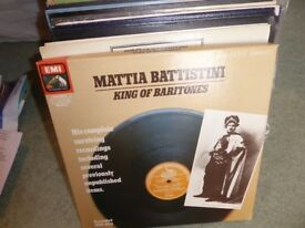Large Collection of Old Vintage Vinyl Opera LP Records