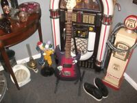 ELECTRIC GUITER AND STAND
