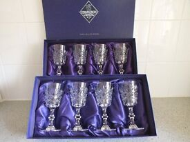 Collection of Edinburgh Crystal Glasses