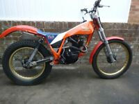 Honda TLR200 Trials bike. Twinshock competition bike, many mods, well maintained, some spares. SORN