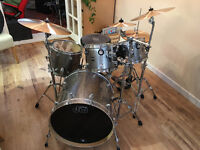 DW Performance drum kit in Silver sparkle + LOTS of extras!!!!