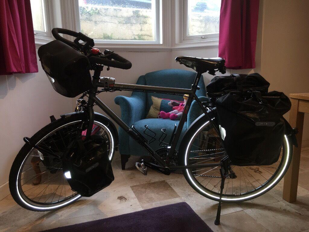 fahrrad manufaktur vsf tx800 touring bike in dawlish devon gumtree