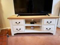 Solid Oak TV Unit / Side Cabinet (matching coffee table also available)