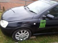 Hi a have a corsa c 2003 plate unfinished project up for offers thanks