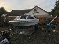 For sale is my shetland speed boat / fishing boat may px for jet ski why take a look great sea boat