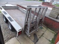 IFOR WILLIAMS GX105 PLANT TRAILER