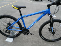Lahar Mountain Bike Brand New Disk Brakes Lockout Fork Fully Built Shimano Trigger Shift Gearing