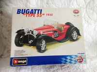 Bugatti model 55 boxed kit for sale in red