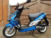 Like new sym jet euro x sr 50cc 2006 scooter moped