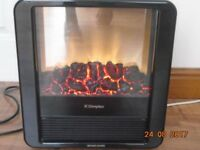 Dimplex electric fire - living flame effect