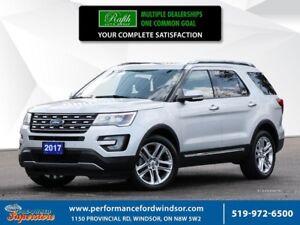 2017 Ford Explorer Limited ***Captain's chairs, moonroof, 4x4***