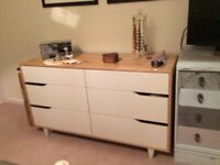 IKEA bedroom chest of drawers