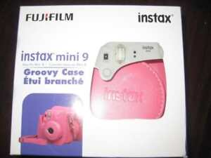 Fujifilm Instax Mini 9 Fitted Groovy Camera Case with Strap. Two Piece Design. Protect. NEW. Phone : 9057815781